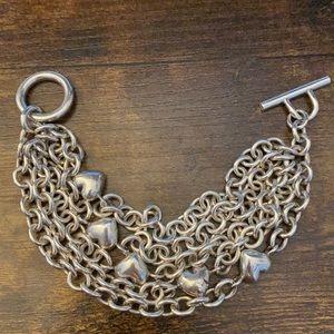 TIFFANY& Co. Multi Strand Bracelet RARE